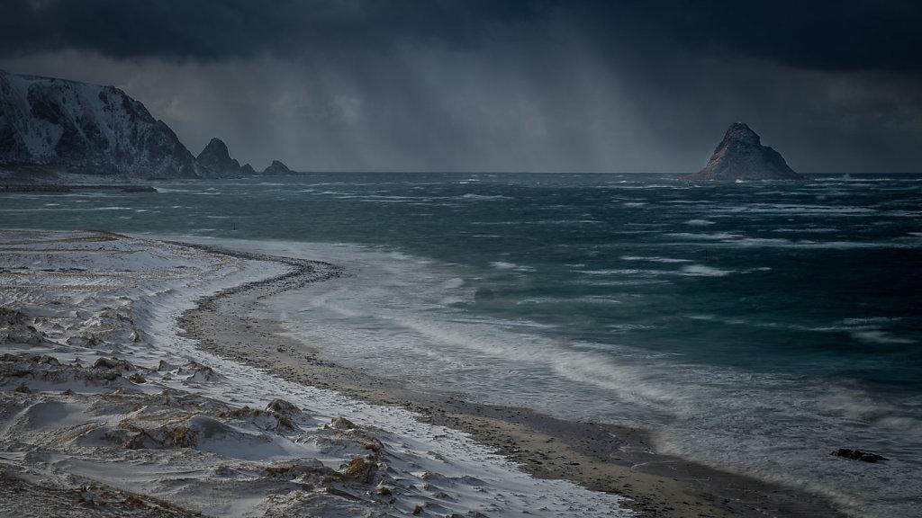 Kuling og regn